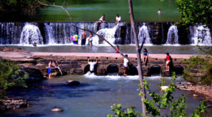 This Waterfall Swimming Hole In Arkansas Is Perfect For A Summer Day