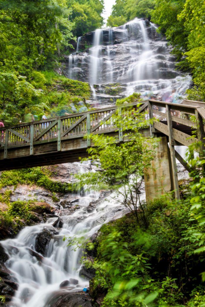 1. Climb the Staircase at Amicalola Falls