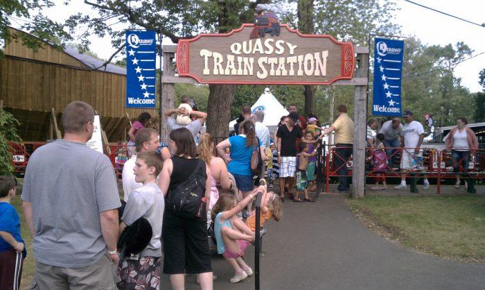 2. Quassy Amusement Park (Middlebury)