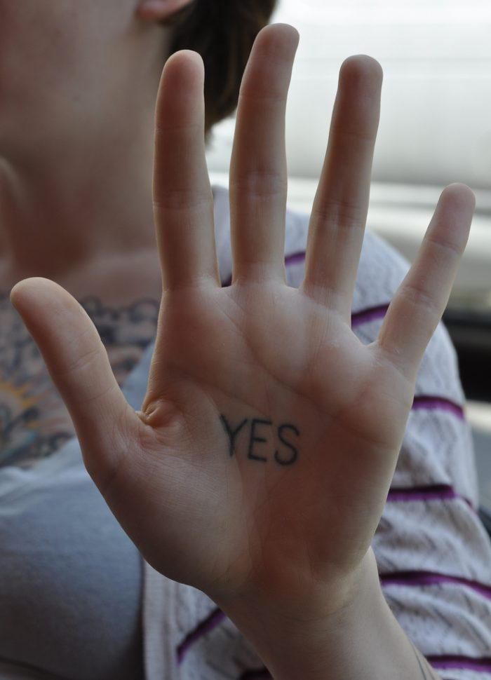 """1. """"Yes"""""""