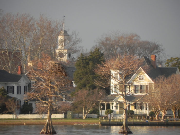 Much of Edenton's charm comes from its beautifully-maintained, historical homes and buildings.