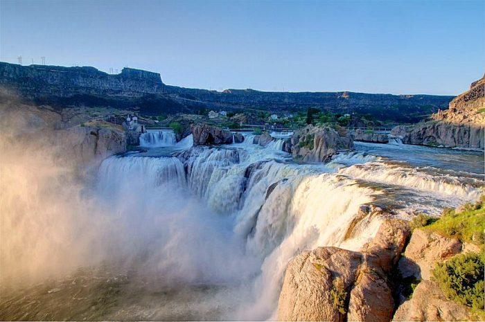 6. Shoshone Falls, Twin Falls
