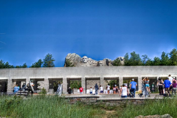 2. Over 3 million people visit South Dakota to see Mt. Rushmore every year.