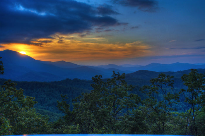 9. And while you're at it, you can thank us for our pretty phenomenal contributions to nature as well...ahem, Blue Ridge Mountains.