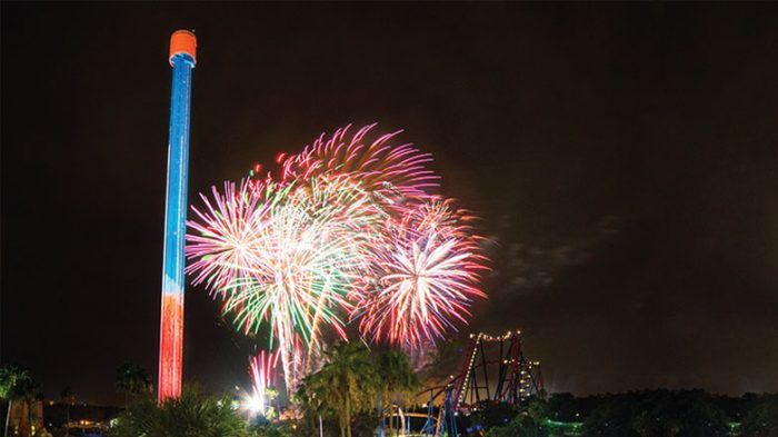 6. Summer Nights at Busch Gardens, Tampa