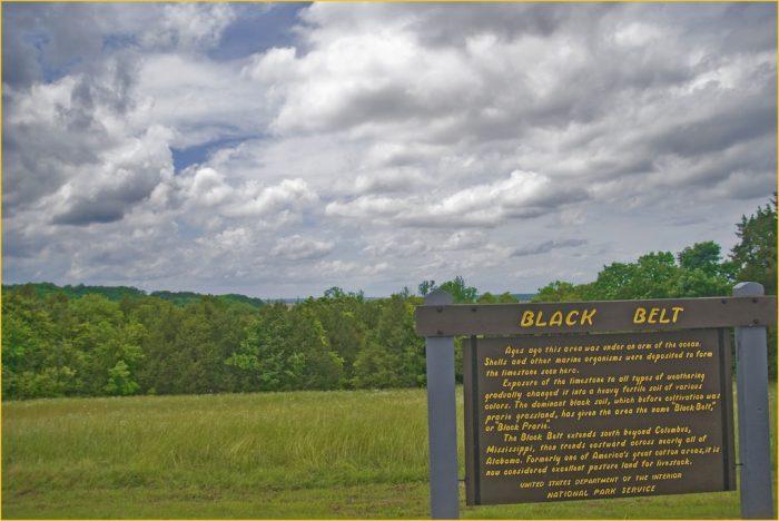 5. Black Belt Overlook, milepost 251.9 on the Natchez Trace Parkway