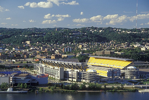 10. Here we go, Steelers! Here we go! The rallying cry can be heard from Heinz Field on Steeler Sundays.