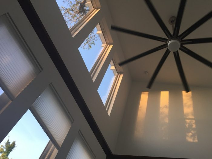 Even the ceiling fans are impressive.