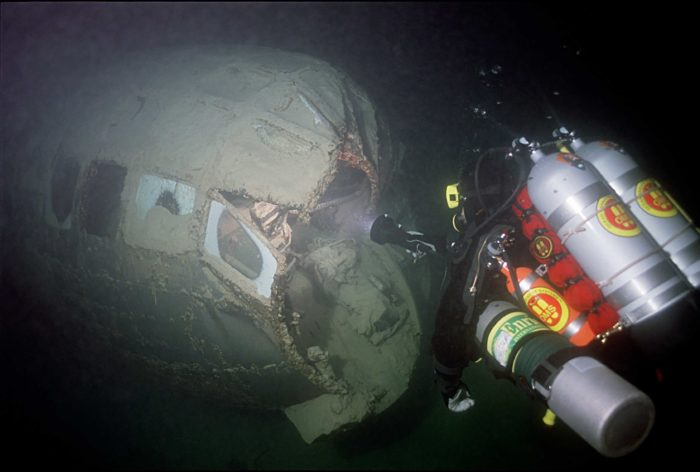 B-29 Superfortress Bomber Hidden Beneath Lake Mead