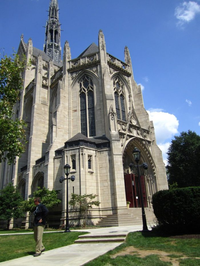 6. Heinz Memorial Chapel - 4200 Fifth Avenue