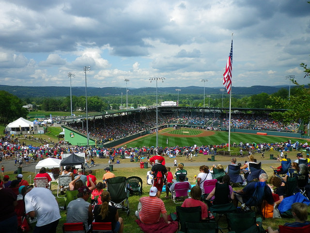 6. Cheer at the Little League World Series in Williamsport.
