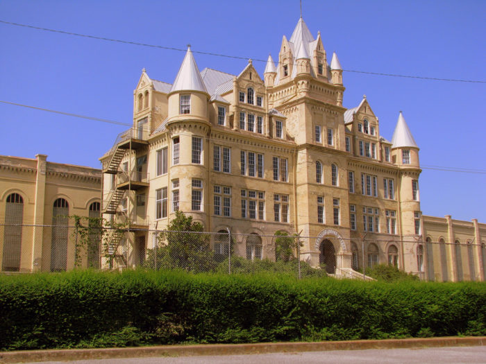 6. An eerie castle is hidden on the west side of town…