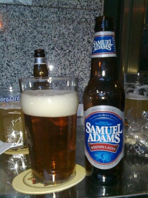 7. Samual Adam's Beer