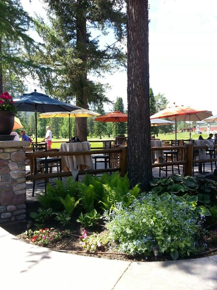 8. Whitefish Lake Golf Club Restaurant, Whitefish
