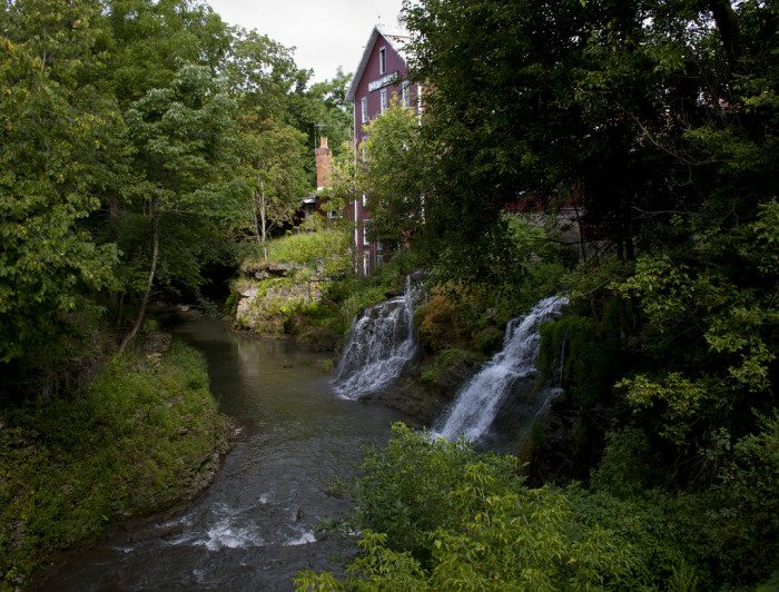 Just five minutes from Yellow Springs you'll find the historic site of Clifton Mill, which is a must-stop, located at 75 Water St., Clifton, OH 45316.