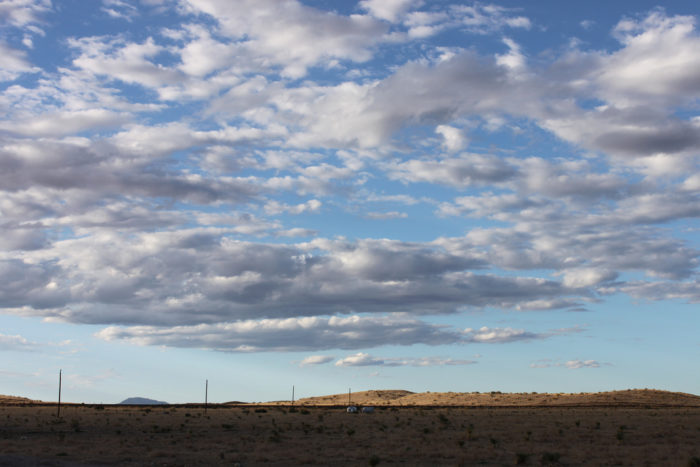 And, of course, drink in that calming solitude that only exists in the desolate West Texas desert.