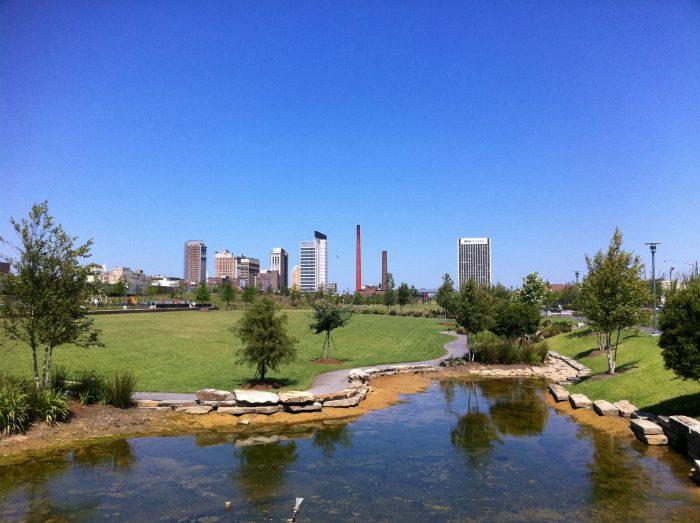1. Railroad Park - Birmingham, AL