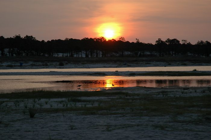 """Can you imagine ending your day like this in Dauphin Island? It's no wonder this quaint town is often referred to as the """"Sunset Capital of Alabama."""""""