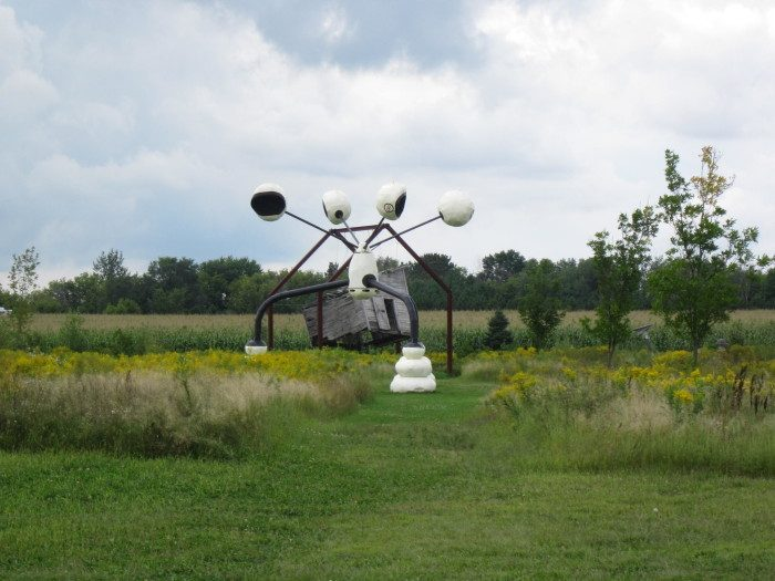 2. Franconia Sculpture Park is certainly bizarre enough to turn a few heads, and driving to the St. Croix means an opportunity to get out and explore the beautiful, creative land.