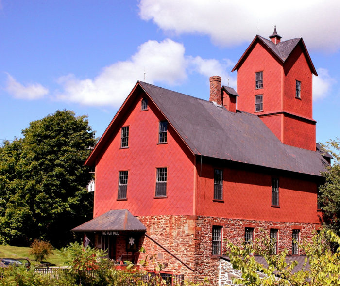 10.  The Old Mill in Chittenden.