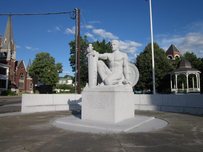 4.  The whispering statue, Barre