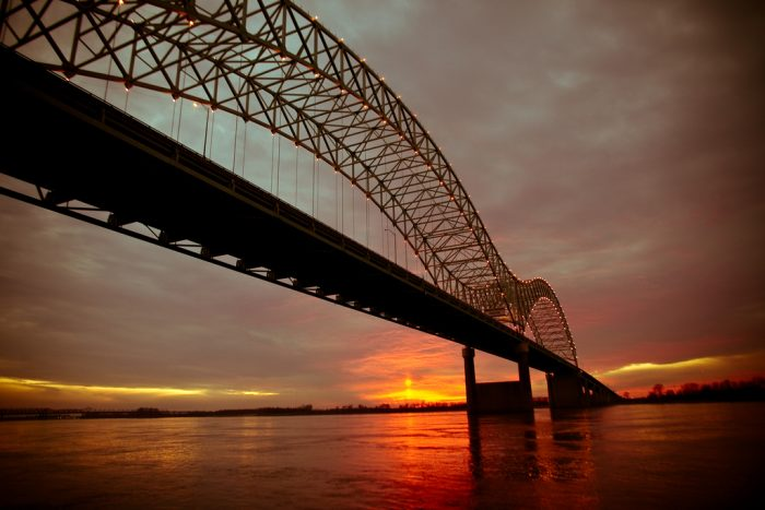 7. Take a walk along the Mississippi in Memphis