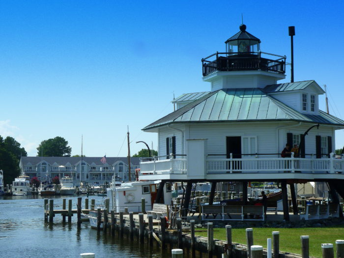 The museum includes the Hooper Strait Lighthouse, which makes this experience especially unique.