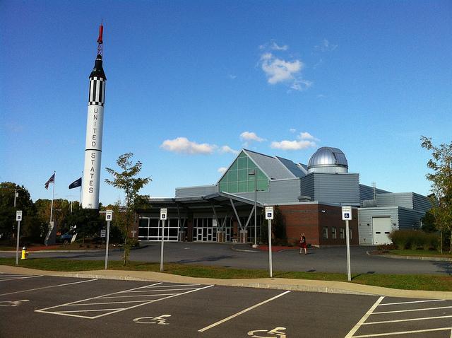 2. McAuliffe-Shepard Discovery Center, Concord