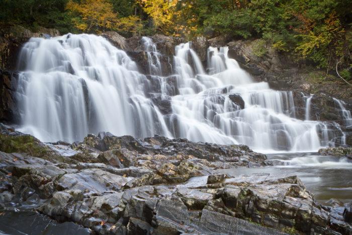 8. Houston Brook Falls Pools, Bingham