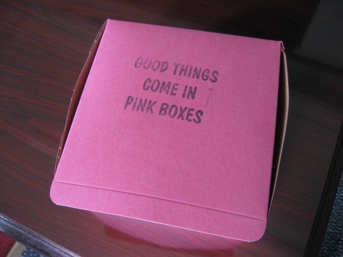 Next time you're in Portland, grab yourself an iconic pink box.