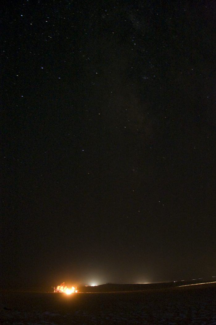 And since there is no light pollution along the beach, this is the perfect place to stargaze.