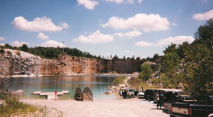 Every Local Knows This Abandoned Alabama Quarry, But Don't Realize What's Hidden In The Water