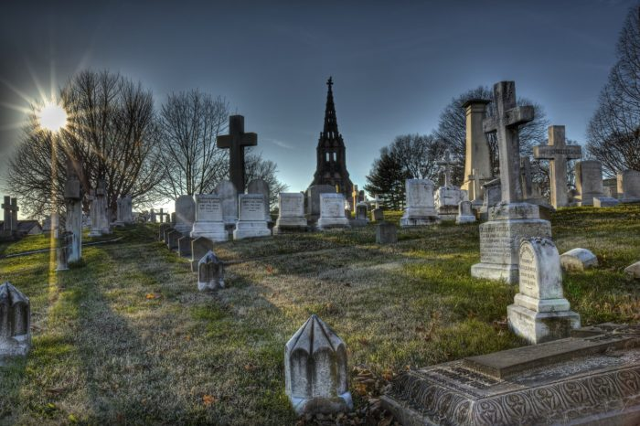 11. Take a stroll through the historic Green Mount Cemetery.