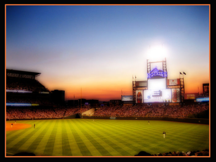 3. Savored a summer night with the Rockies at Coors Field.