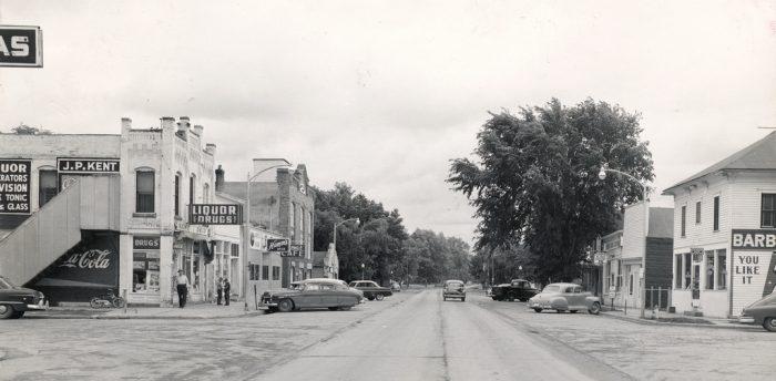 8. Main Street in Jefferson, 1952