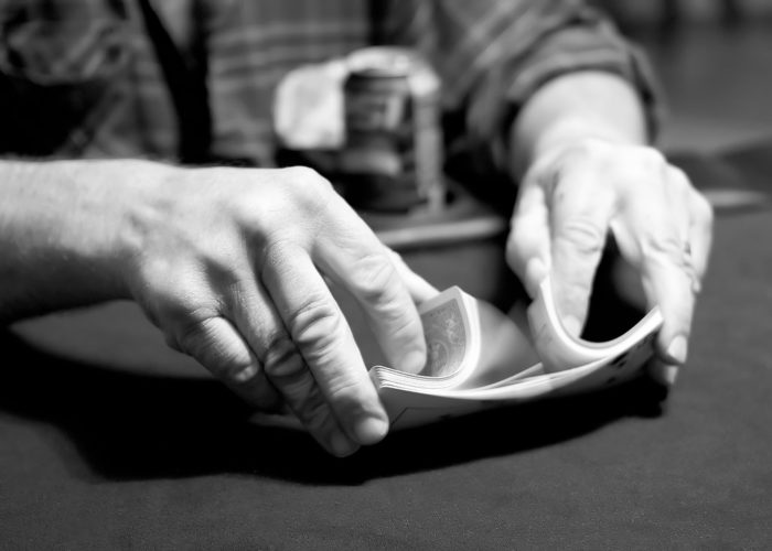 1. Charitable groups are allowed to hold stud poker games to raise money, but ONLY twice a year.