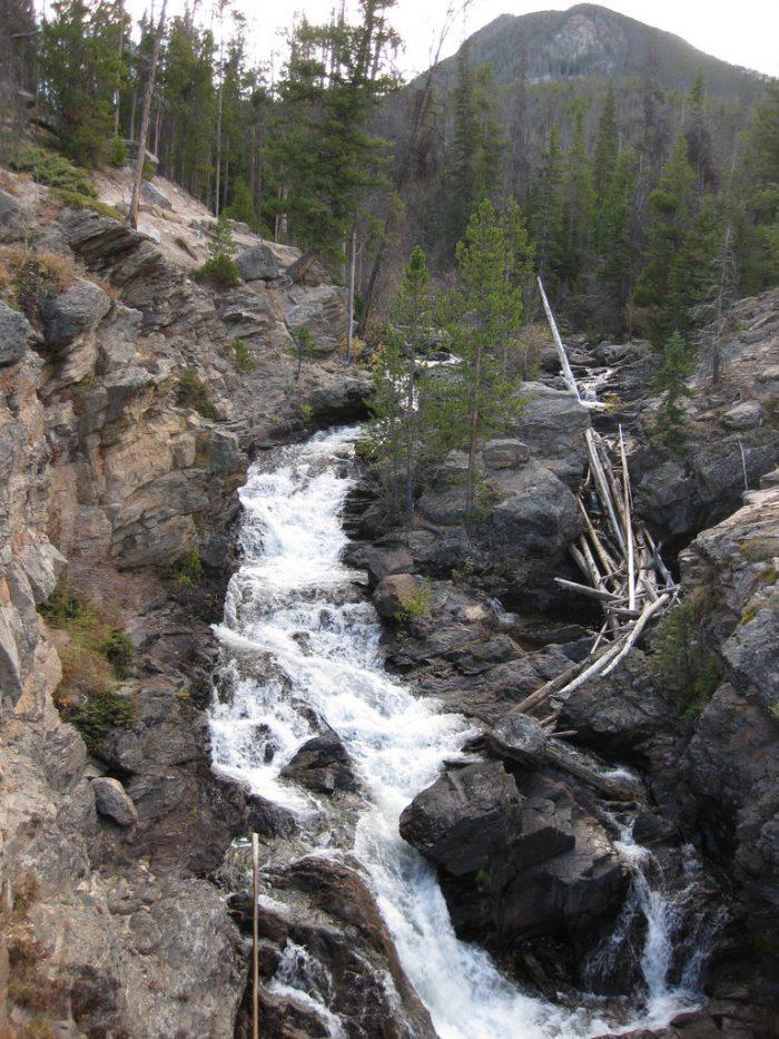 5. Adams Falls (Grand Lake)