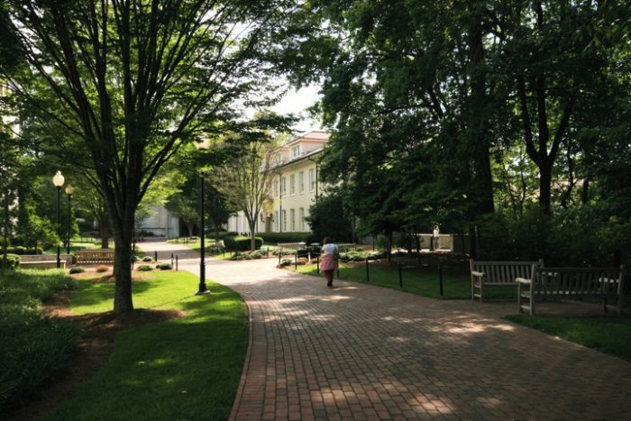 7. We wouldn't think of going anywhere else for college.