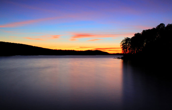 8. Lake Ouachita is the most pristine lake in the state, and one of the clearest in the country.