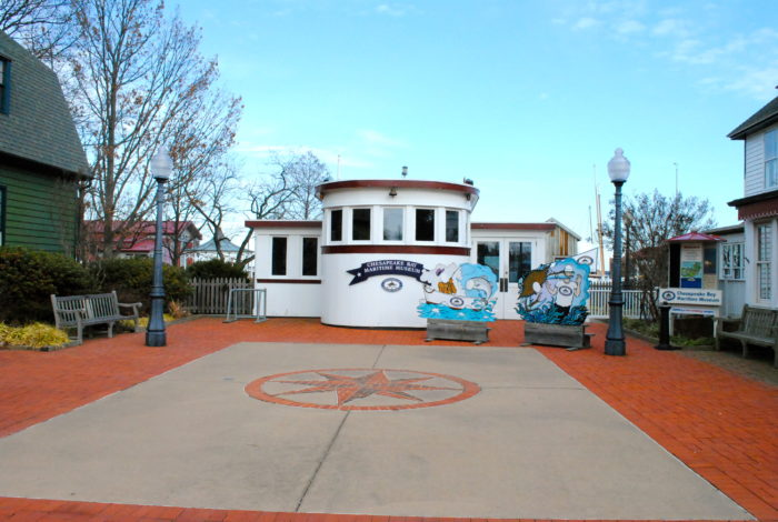 Spend some time learning about the bay at the Chesapeake Bay Maritime Museum.