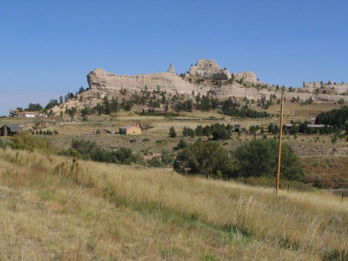 5. The geology in the western part of the state is spectacular, from the bluffs and buttes...