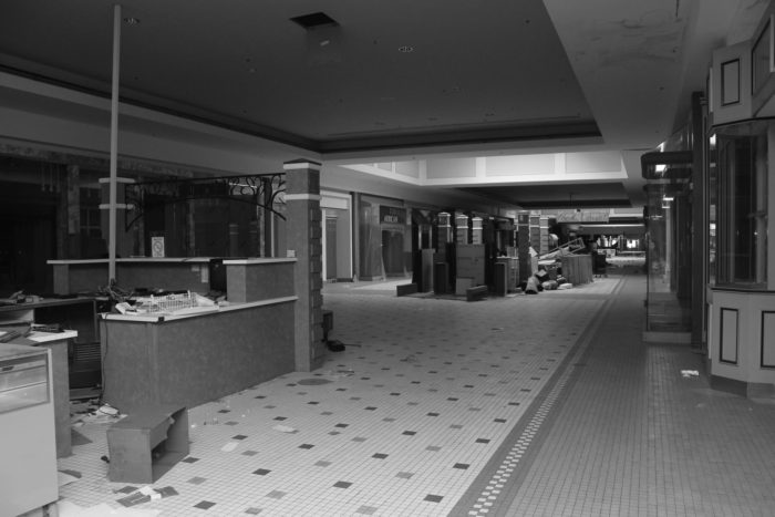 The mall closed permanently in 2007.