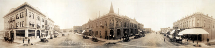 1. 6th and Main Street, Rapid City, SD, 1912