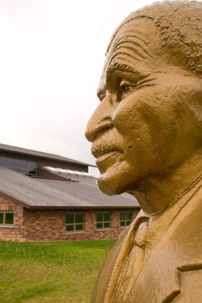 7. George Washington Carver Talking Bust – Diamond, Mo.