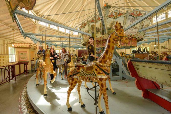 7. Dentzel Carousel (1802 Carousel Dr, Meridian)