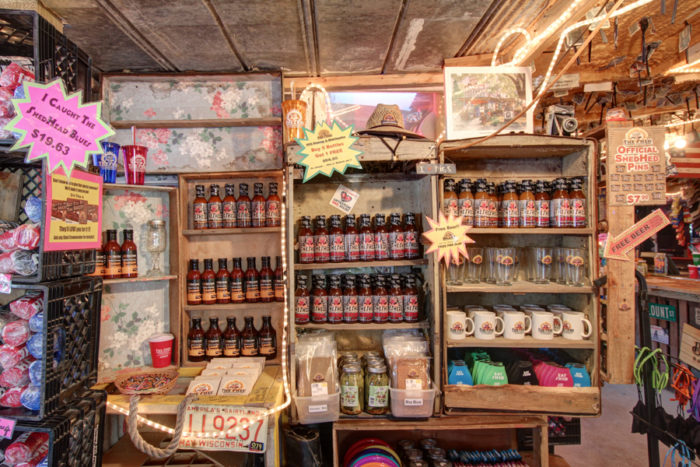According to the owners, it's the Secret Shed Rub and signature barbecue sauce that makes their meat so good.