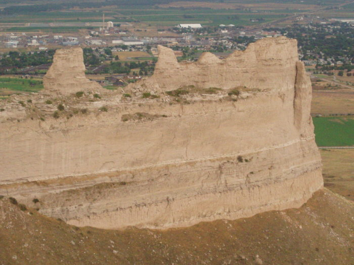 8. You won't need to take a detour to view Scotts Bluff National Monument; this scenic route passes right by it.