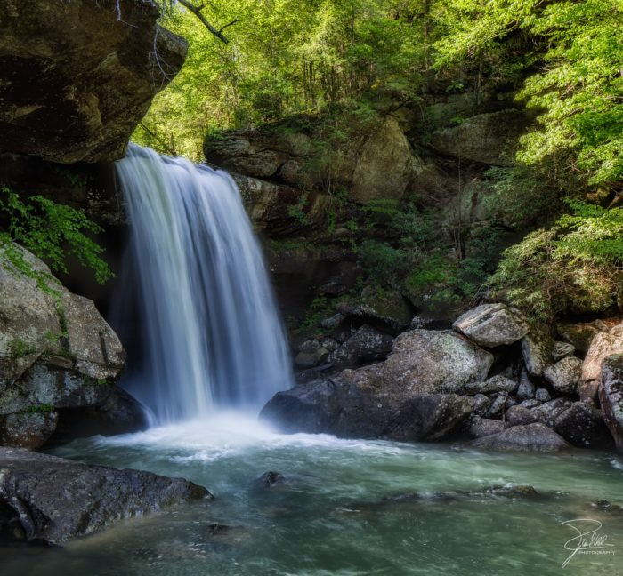7. Eagle Falls is located near the home of the moonbow.