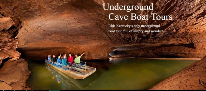 7. This cave river makes its home in Bowling Green.