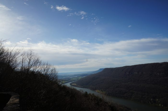 5. Take in the view at the Tennessee River Gorge.